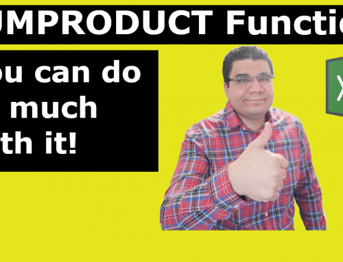 SUMPRODUCT function | Multiple uses [Video]
